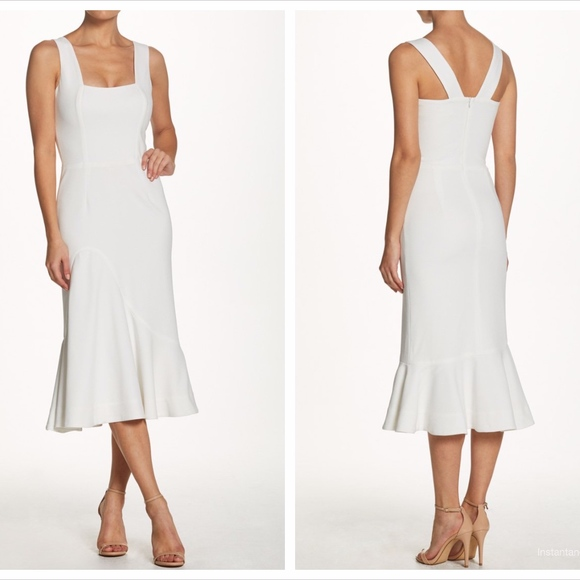 e892a03b0afa Dress the Population Dresses | Monica Crepe Midi Dress | Poshmark